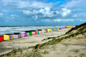 Texelse strandhuisjes