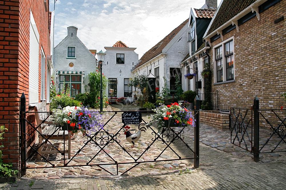 Het Hofje, Weverstraat,Den Burg